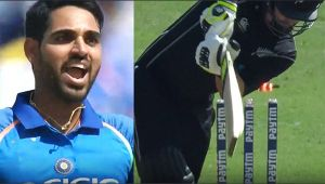 India vs NZ 2nd ODI : Munro clean bowled on 10 runs, Bhuvi's knuckle ball does magic