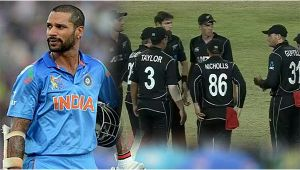 India vs NZ 2nd ODI : Shikhar Dhawan dismissed for 68 runs, Blues lose 3rd wicket