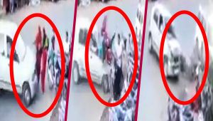 CCTV footage catches hit-and-run accident in Bhopal, Watch here