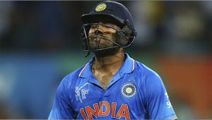 India vs NZ 3rd ODI : Rohit Sharma dismissed for 147 runs, misses out on double ton