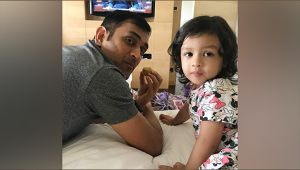MS Dhoni's daughter Ziva invited as a special guest for Krishna festival