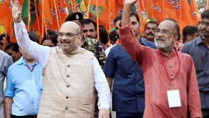 Amit Shah skips Jan Suraksha Rally in Kerala to attend meeting with Modi & Jaitley
