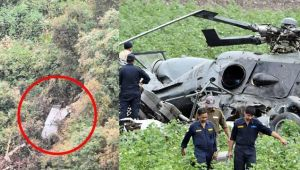Indian Air Force helicopter Mi 17 V5 crashes in Arunachal Pradesh, five killed