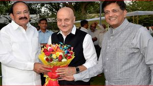 Anupam Kher named the new chief of FTII, replaces Gajendra Chauhan