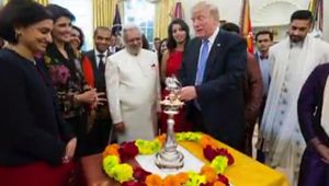 US President Donald Trump celebrates Diwali in the White House, Watch