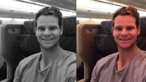 Steve Smith leaves message for India after returning home