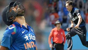 India vs NZ 1st ODI : Rohit Sharma fails to fire, Boult stikes once again
