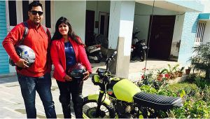 Female Biker and Activist Sana Iqbal from Hyderabad dies in car accident