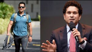 MS Dhoni gets biggest compliment from Sachin Tendulkar
