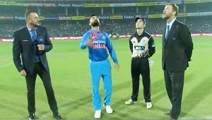 India vs NZ 1st T20I: Kiwis wins toss and has elected to bowl first at Feroz Shah Kotla