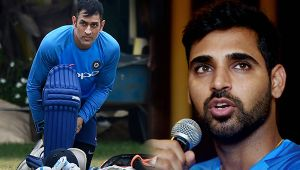India vs NZ T20 match : MS Dhoni gets support from Bhuvneshwar Kumar