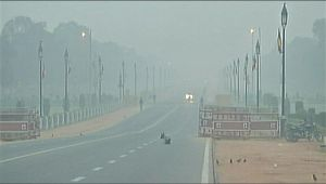 Delhi Air pollution : Quality of air is set to improve from Saturday