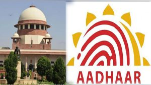 Supreme Court pulls up Banks and Mobile companies for creating panic over Aadhar linking