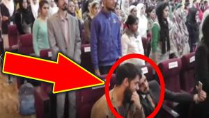 Indian National Anthem disrespected by Kashmiri students, Watch Video