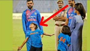 India vs NZ 1st T20I : Ashsih Nehra's son Aarush following father's footsteps