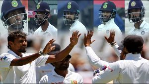 India vs Sri Lanka 1st test, 2nd day : Ashwin out on 4, host in a heap of trouble