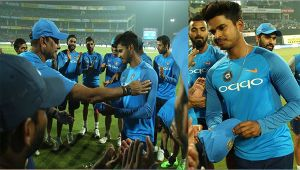 India vs NZ 1st T20I : Sheyas Iyer make his international debut for Team India