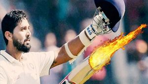 India vs SL 2nd test 2nd day : Murali Vijay hits 10th test ton as host chase 205 runs
