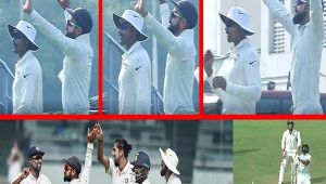 India vs Sri Lanka 2nd test: Virat Kohli DANCES on Dickwella DISMISSAL