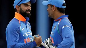 Virat Kohli defends MS Dhoni, slams those questioning his position in team
