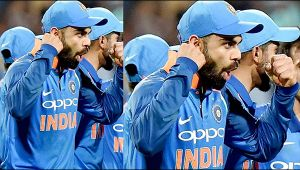 Virat Kohli reveals that he give 120 percent when ever he plays for India