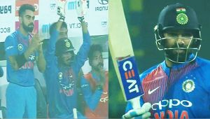 India vs NZ 1st T20I : Rohit Sharma his 13th 50 in the shortest format