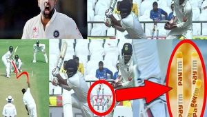 India vs SL 2nd test 1st day : Ashwin clean bowled Thirimanne for 9 runs