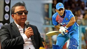 India vs New Zealand T20 match : MS Dhoni defended by Sunil Gavaskar