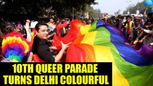 Delhi queer parade : National capital got painted in colours of rainbow