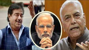 Shatrughan Sinha and Yashwant Sinha : How will PM Modi tackle rebel leaders