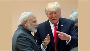 US President Donald Trump applauded PM Modi and India for astounding growth, Watch