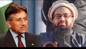 Pervez Musharraf says he is a fan of Hafiz Saeed