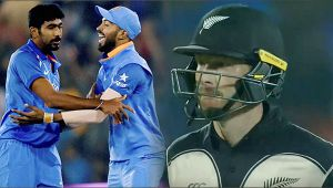 India vs NZ 3rd T20I: Bhuvi and Bumrah dismiss Munro and Guptill in quick succession