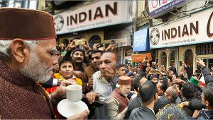 PM Modi pays visit to Indian Coffee House on Mall Road , Shimla, Watch Video
