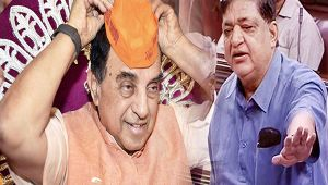 Samajwadi leader Naresh Agarwal insults Jadhav's family, Swamy demands actions