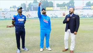 India vs SL 3rd T20I : Rohit Sharma & Co. wins toss and elects to bowl in Mumbai