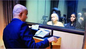 Kulbhushan Jadhav meets his mother and wife after 2 years through glass window