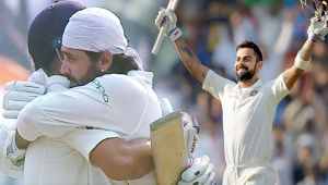 India vs SL 3rd test 1st day highlights: Virat Kohli slams 156 runs, Vijay dismissed for 155