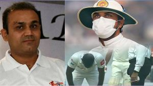 India vs SL 3rd test : Virender Sehwag urges ICC to take action against Lankan team