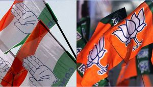 Gujarat Assembly elections : BJP predicted as clear winner in poll surveys