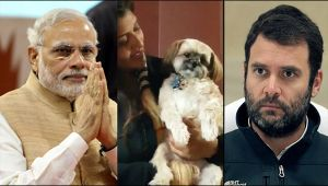 Gujarat Assembly polls : Dog predicts PM Modi's win elections, Watch video