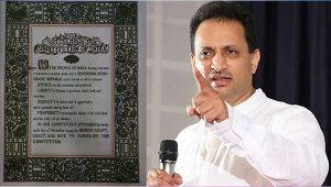 BJP MP Ananth Kumar Hegde says word 'Secular' soon will be removed from Constitution