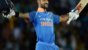 India vs SL 3rd ODI : Shikhar Dhawan hits 12th one day 100 in just 84 balls