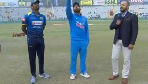 India vs SL 2nd Odi : Rohit Sharma & Co to bat first after Lanka wins toss and elects to bowl