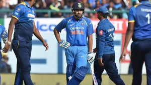 India loses 1st ODI match, Lanka humiliates host with a 7 wicket win