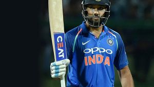 India vs SL 2nd ODI : Rohit Sharma slams 16th one day 100, host in a strong position