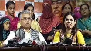 Triple Talaq bill : Petitioner Ishrat Jahan's lawyer too joins BJP in West Bengal