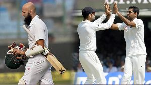 India vs SA 1st Test: Bhuvneshwar Kumar gets visitors off to a dream start, Amla out