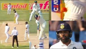 India vs South Africa 2nd test 2nd day : Rohit Sharma dismissed for 10 runs