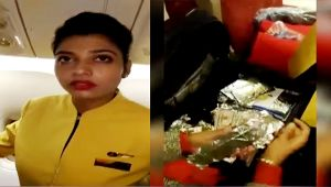 Jet Airways staffer caught 'Red Handed' carrying US dollar worth Rs 3.21 crore, Watch